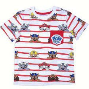 Nickelodeon Paw Patrol Toddler Boy Pocket T-shirt